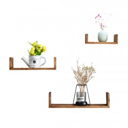 Set Of 3 U Shape Floating...