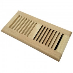 oak floor register 4x10