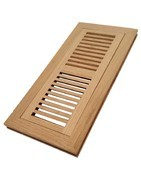 Floor registers include wood floor register, metal floor register.